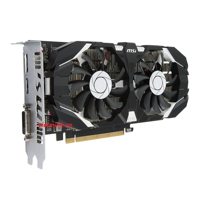 Vga MSI GTX 1050Ti 4Gb Dual fan